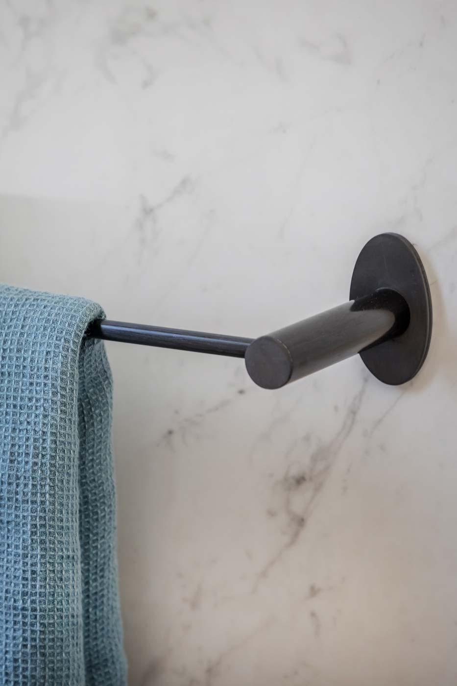 Porte-serviettes Libellule détail
